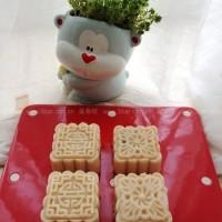 豆沙蔓越莓芸豆月饼