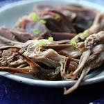 盐水鸭肫卤鸭舌(南京菜谱)