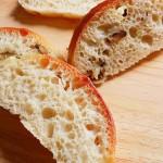 蘑菇脱鞋面包(意式稀面团面包)
