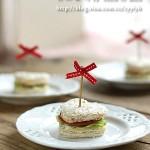 火腿三明治(营养全面的10分钟早餐菜谱)