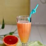 阳光西柚苹果汁(女人最爱的夏日饮品)