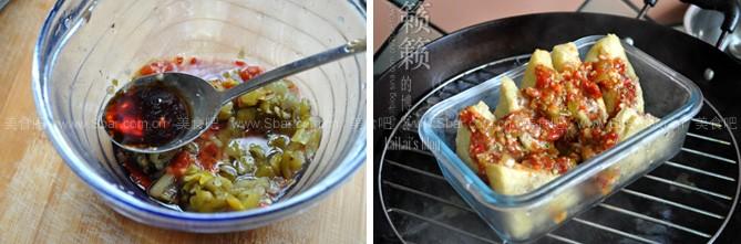 剁椒蒸酿豆腐
