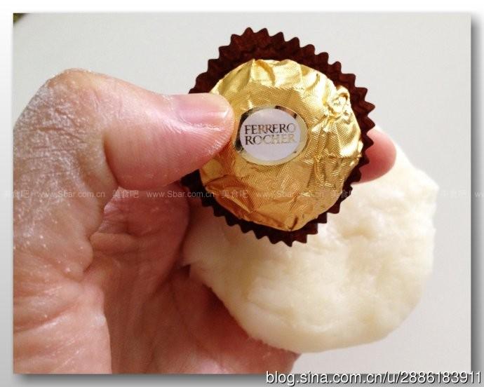 费列罗巧克力馅冰皮月饼