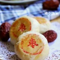 枣泥酥皮月饼