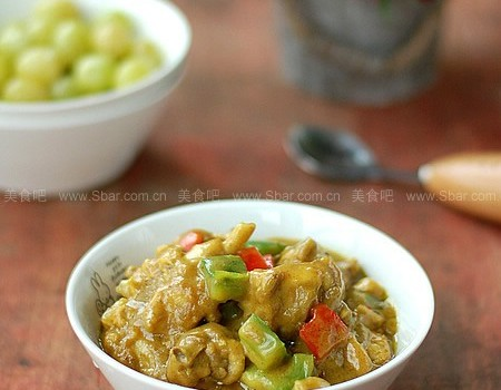 咖哩鸡(零难度东南亚风情菜)