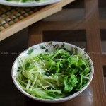 拌豌豆苗(節后調理腸胃的簡單素食)