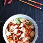 酸汤水饺(早餐菜谱)
