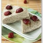 芝麻紅棗發糕(早餐菜譜)