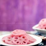 胭脂藕(秋天润燥菜谱)
