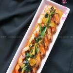 花雕姜葱焗虾