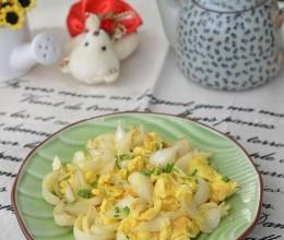 鲜百合炒鸡蛋