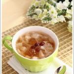 桃胶蔓越莓糖水