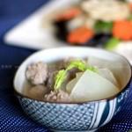 冬瓜汆丸子(宝宝菜谱)