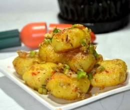 孜然香煎小土豆