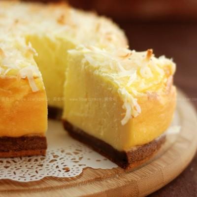 热椰丝重乳酪
