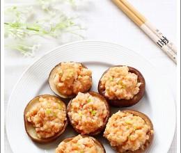鲜虾荸荠酿香菇