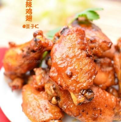 姜蜜辣鸡翅