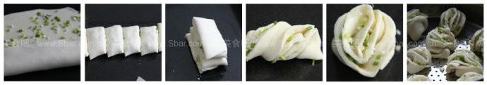 葱香小花卷