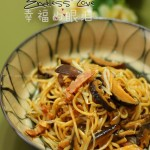 姜汁香菇炒面(上班族的快手晚餐)