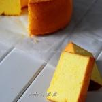 南瓜戚风(适合糖尿病人吃的蛋糕)
