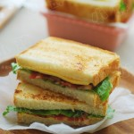 香脆培根三明治(五分钟快手美味早餐)