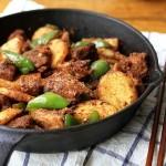 炕锅羊肉(西北风味)
