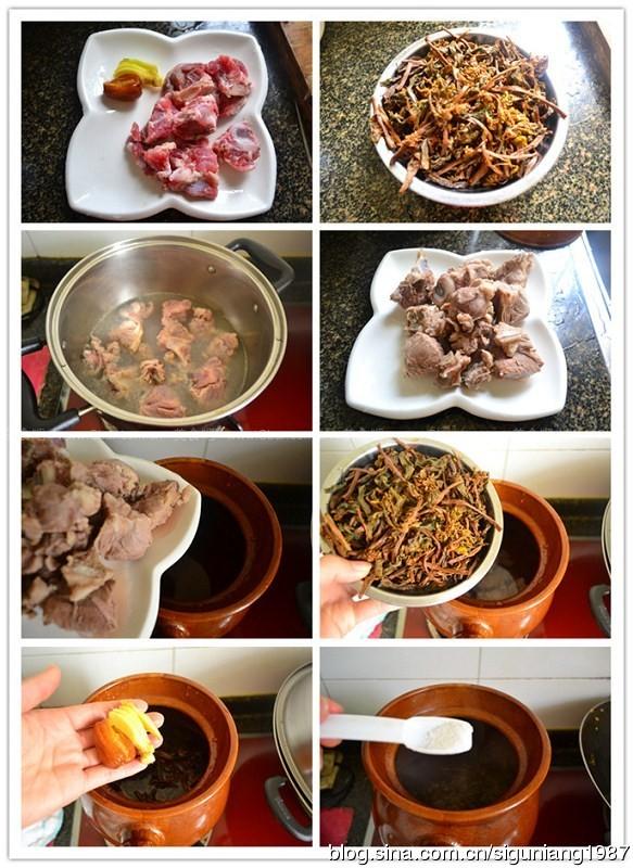 菜干煲猪骨