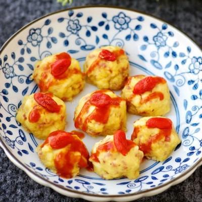 火腿豆腐丸子