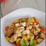 桃仁鸡丁(健脑益智的下饭菜)