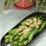 蒜蓉秋葵(营养保健菜)