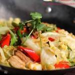 干鍋圓白菜