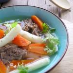 山药牛腩汤