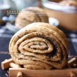 黑芝麻红糖花卷(早餐菜谱)