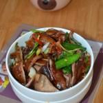 青蒜腊肚片(土家族特色小炒)