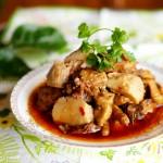 香辣芋儿鸡(重庆菜谱)