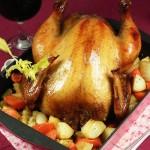 烤鸡(家庭聚会的主打菜)