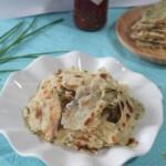 自制葱油饼(早餐菜谱)