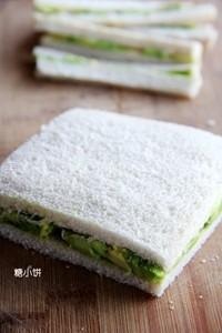 樹莓醬酪梨三明治