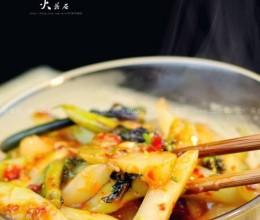 老成都鱼香红油菜苔
