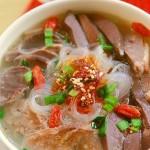 鸭血粉丝汤(南京名小吃)