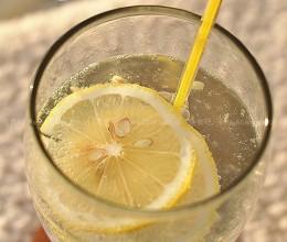 自制柠檬松露汽水