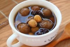 红枣桂圆糖水