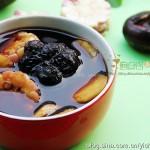 罗汉果荸荠汤(防雾霾的清肺润喉汤)