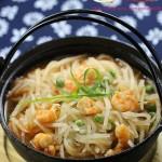 鲜虾萝卜丝(对抗雾霾的润肺清新菜)