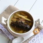 沙参猪瘦肉炖海参(冬日里的养生靓汤)