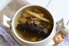 沙参猪瘦肉炖海参