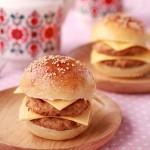 牛肉芝士汉堡(早餐菜谱)