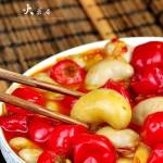 泡椒公鸡蛋(川菜)