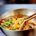 金针冒鹅肠(春节家宴菜)