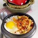 韓式魷魚拌飯